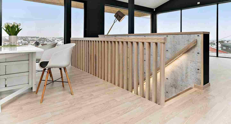 ©Hansen_&_Justnæs - Trapp - tre - betong