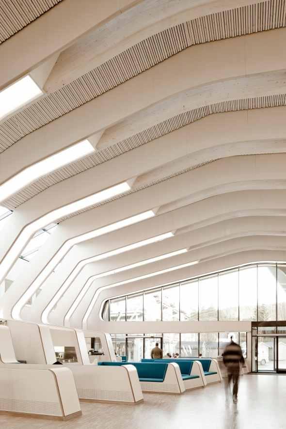 ©Moelven_Limtre - Vennesla bibliotek - foto Helen & Hard Arkitekter