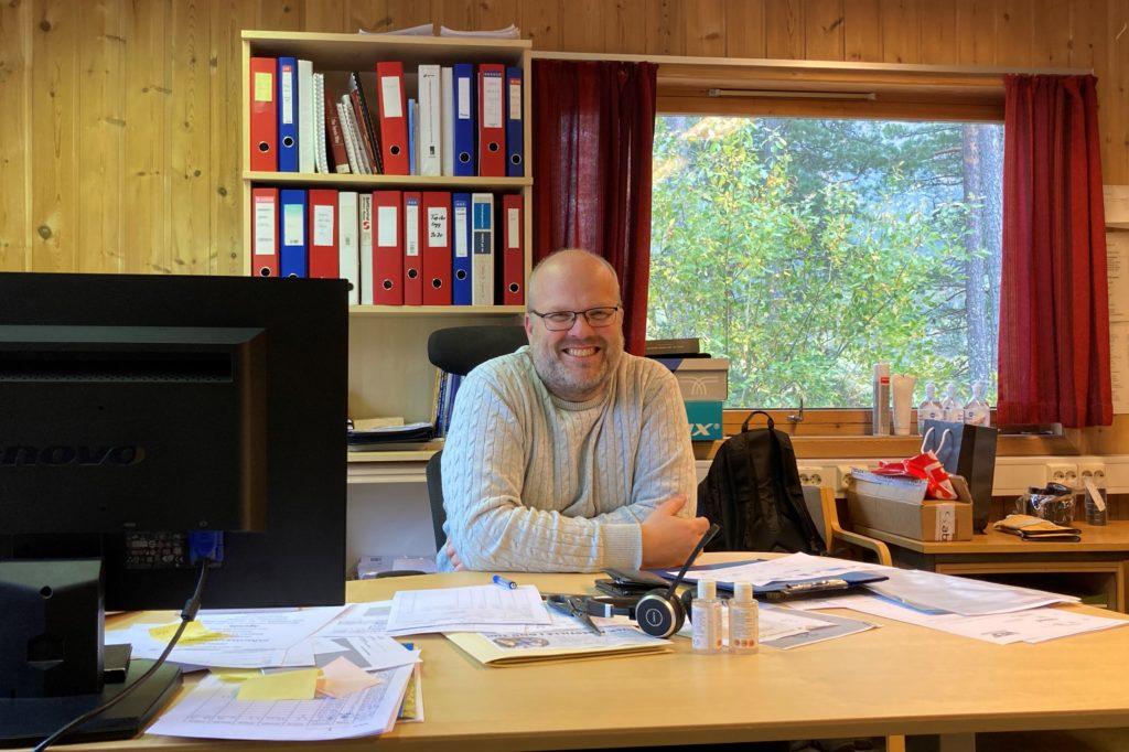 Per Arne Teslo - daglig leder hos Byglandsfjord Sag